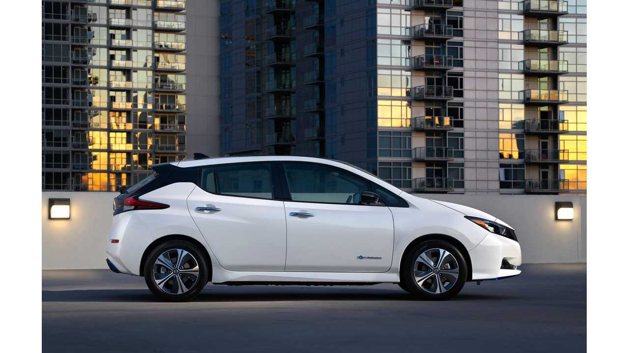 Nissan LEAF e-Plus Officially Rated At 215 & 226 Miles Of EPA Range