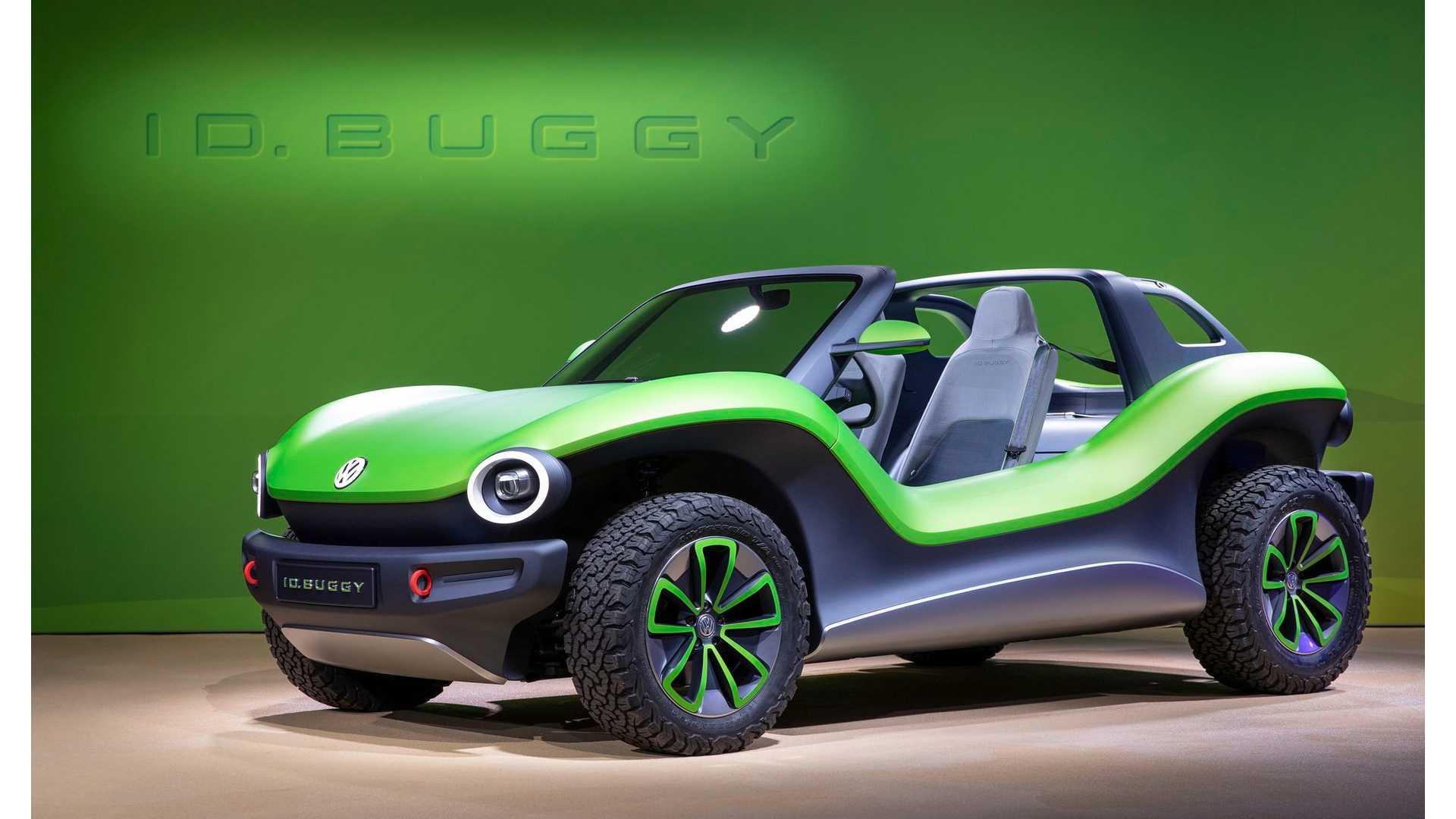Volkswagen I D  Buggy Looks Beach Ready: Photos & Videos