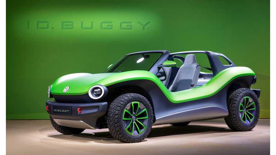 Volkswagen I.D. Buggy Looks Beach Ready: Photos & Videos