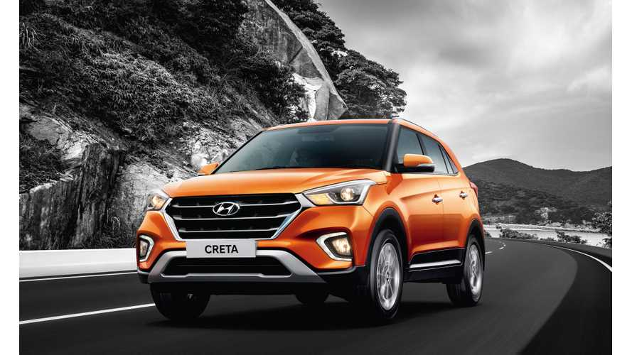 Hyundai Creta Electric To Be Automaker's Next EV In India?