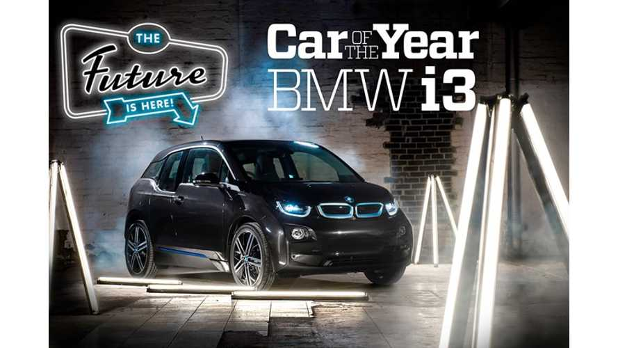 BMW i3 Is Wheels Australia's Car Of The Year (w/video)