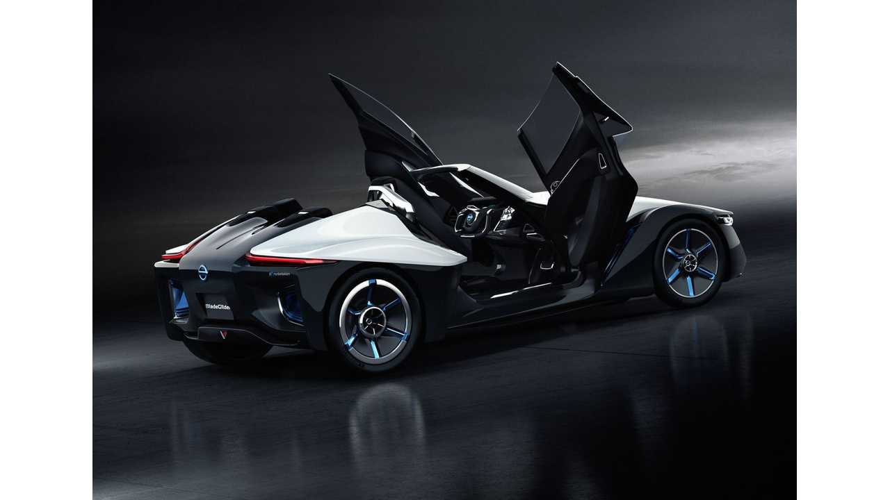 Production Of Nissan BladeGlider