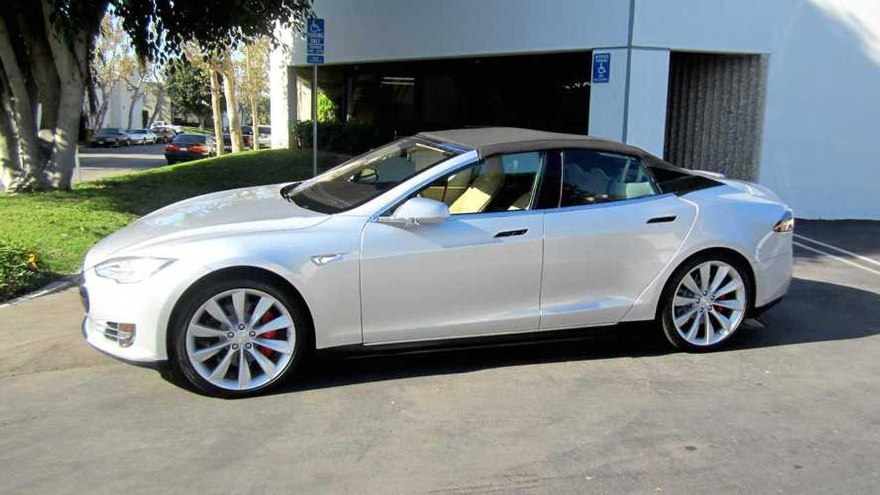 Tesla Model S Convertible Is Fugly