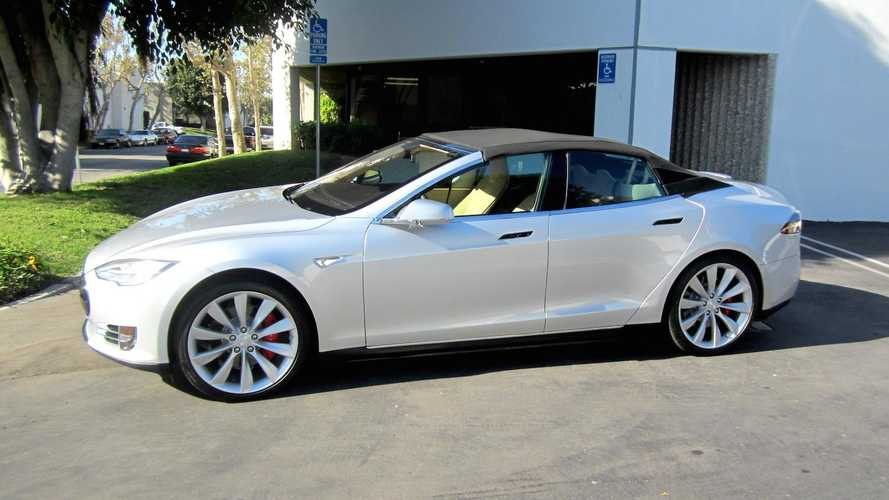 Tesla Model S Convertible Is Fugly