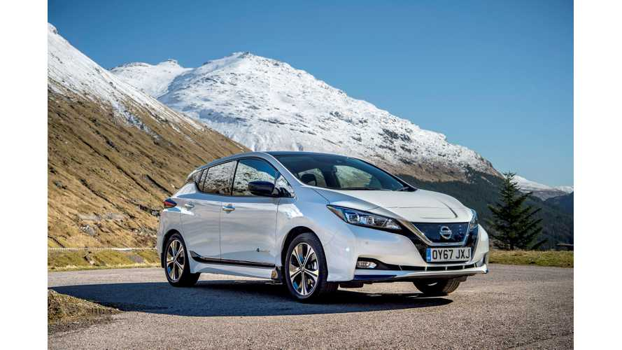 Norway Plug-In Electric Car Sales Increased By 82% In April