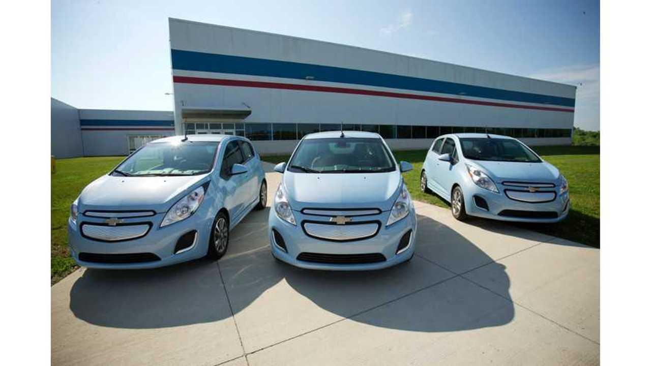 Kelley Blue Book Again Lists Chevrolet Spark EV Among Best Deals