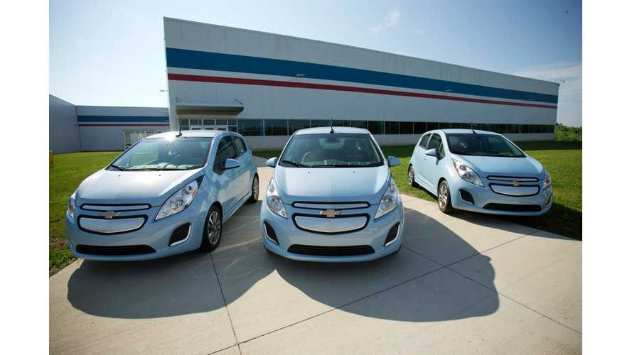 Kelley Blue Book Again Lists Chevrolet Spark EV Among Best Deals