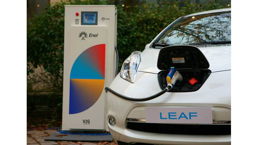 """Largest """"Second Life"""" Battery Storage and V2G Project Ever To Power Nissan Office"""