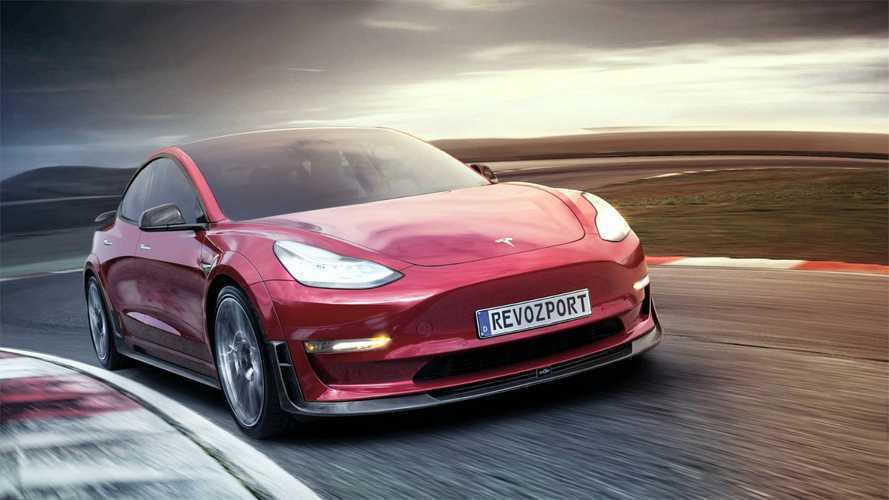 Meet The R-Zentric Tesla Model 3R By RevoZport