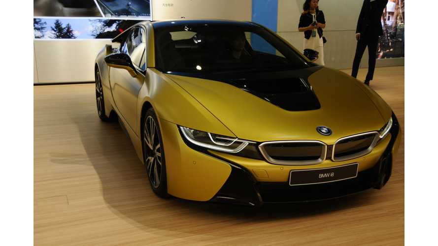 2018 BMW i8 HP To Jump To 420