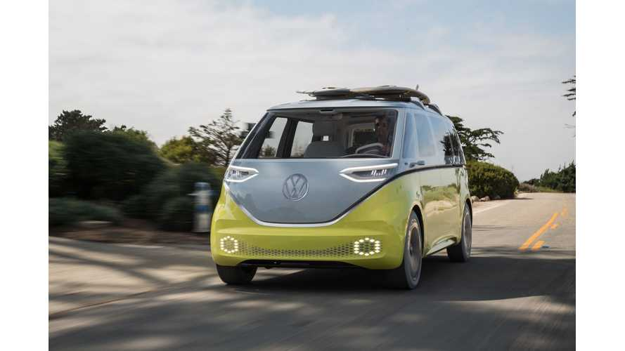 Volkswagen I.D. Buzz First Drive