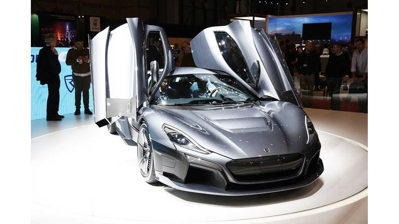 See More Photos & Videos Of Rimac C_Two In Geneva
