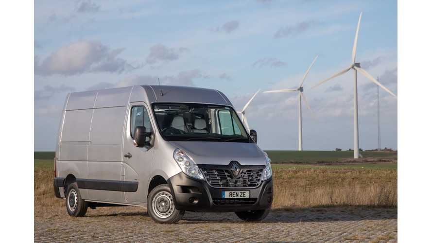 Renault Master Z.E. Electric Van Enters The UK