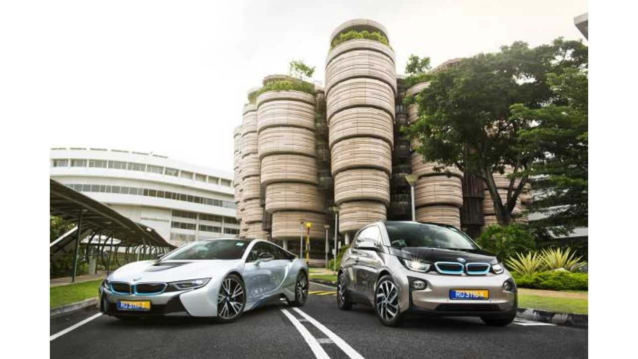 BMW Launches Electromobility Research Program In Singapore