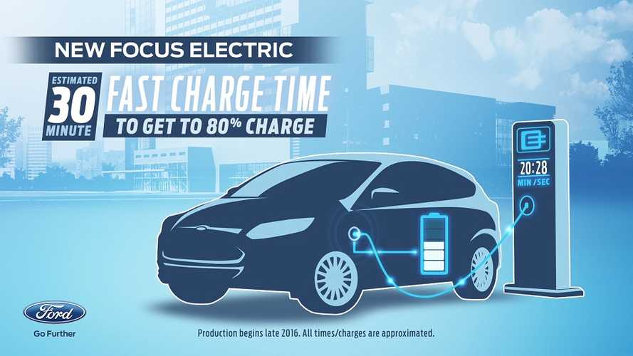2017 Ford Focus Electric: 100 Mile Range, Fast Charging + 13 New