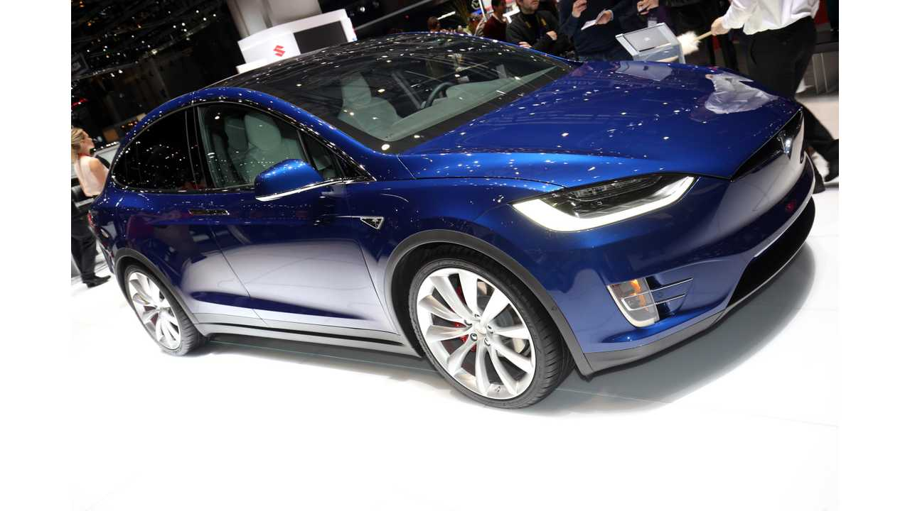 Tesla Model X Visited The Geneva Motor Show This Week - Elsewhere, Full Volume Production Is Still Yet To Be Realized