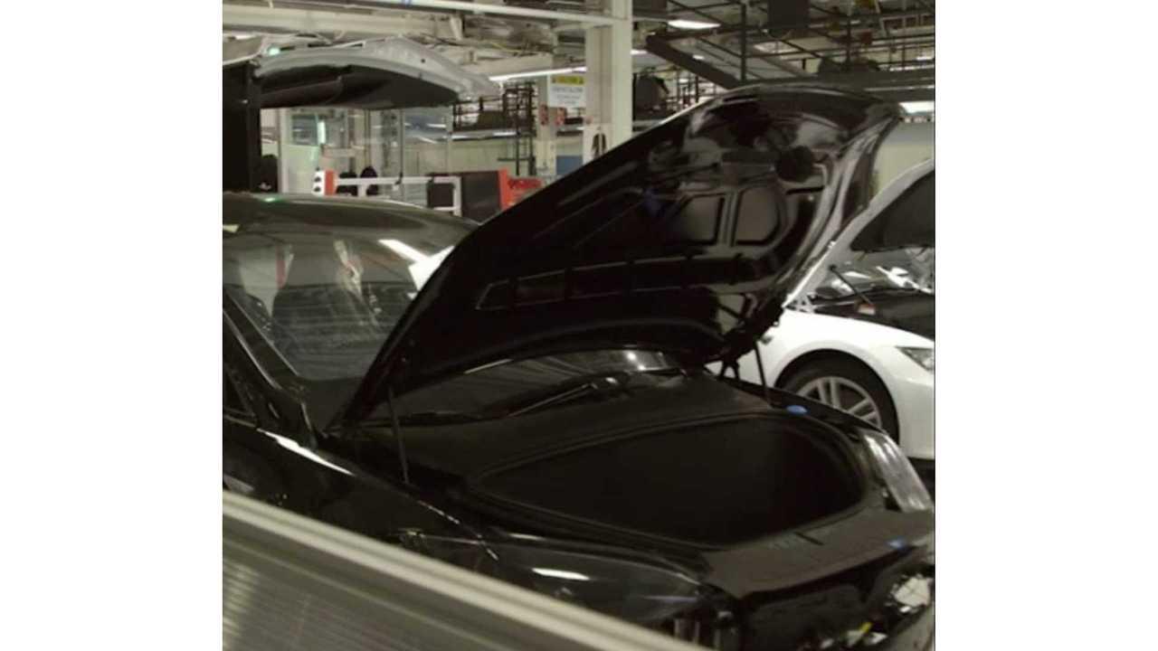 Tesla Model X Frunk Images