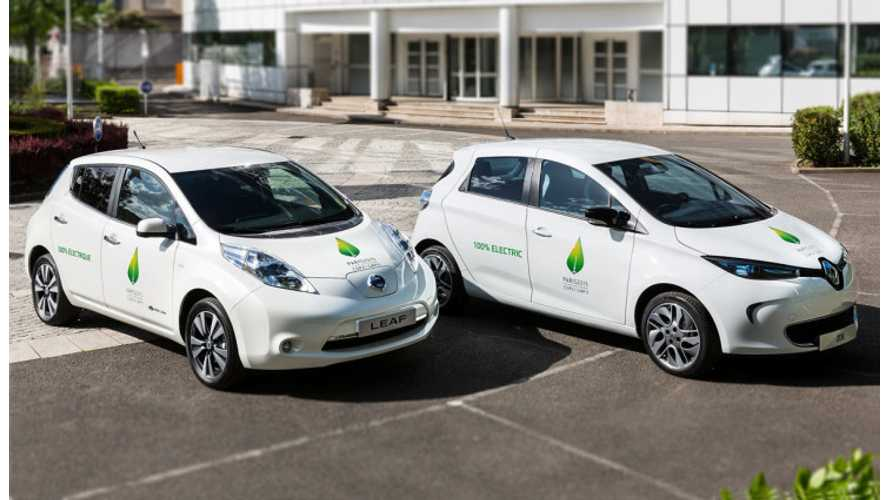 Renault-Nissan Alliance Sells Its 250,000th Electric Vehicle