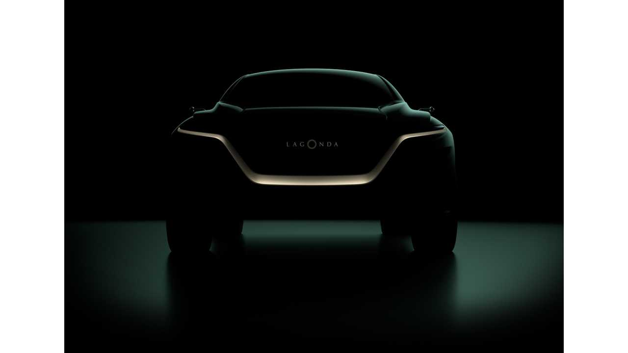 Electric Lagonda All-Terrain SUV Concept To Debut In Geneva