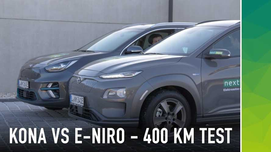 Hyundai Kona Electric Vs Kia Niro EV, The Autobahn Efficiency Edition