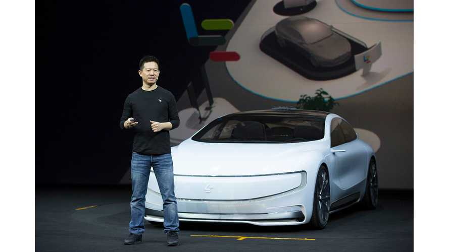 LeEco Cash Crunch Leads Us To Believe Faraday's Future Is In Question