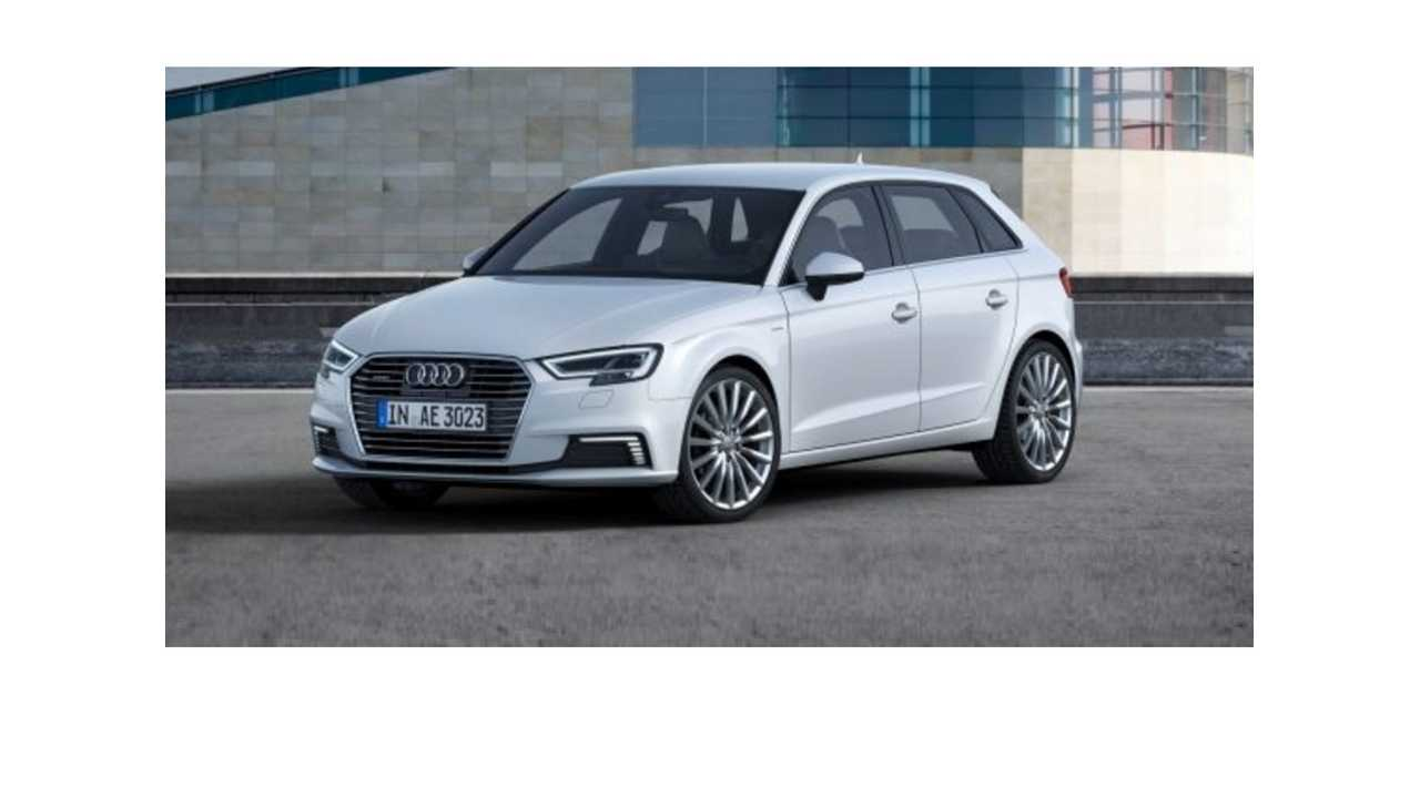 Refreshed 2017 Audi A3 Sportback e-tron Arrives With More Tech, Panoramic Roof Standard