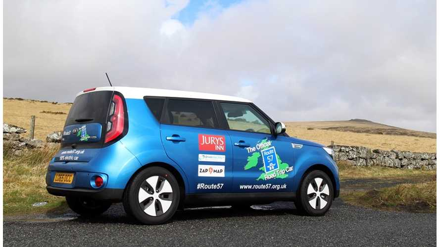 Fancy A 2,580 Mile Route 57 Trip In Kia Soul EV? - Fully Charged