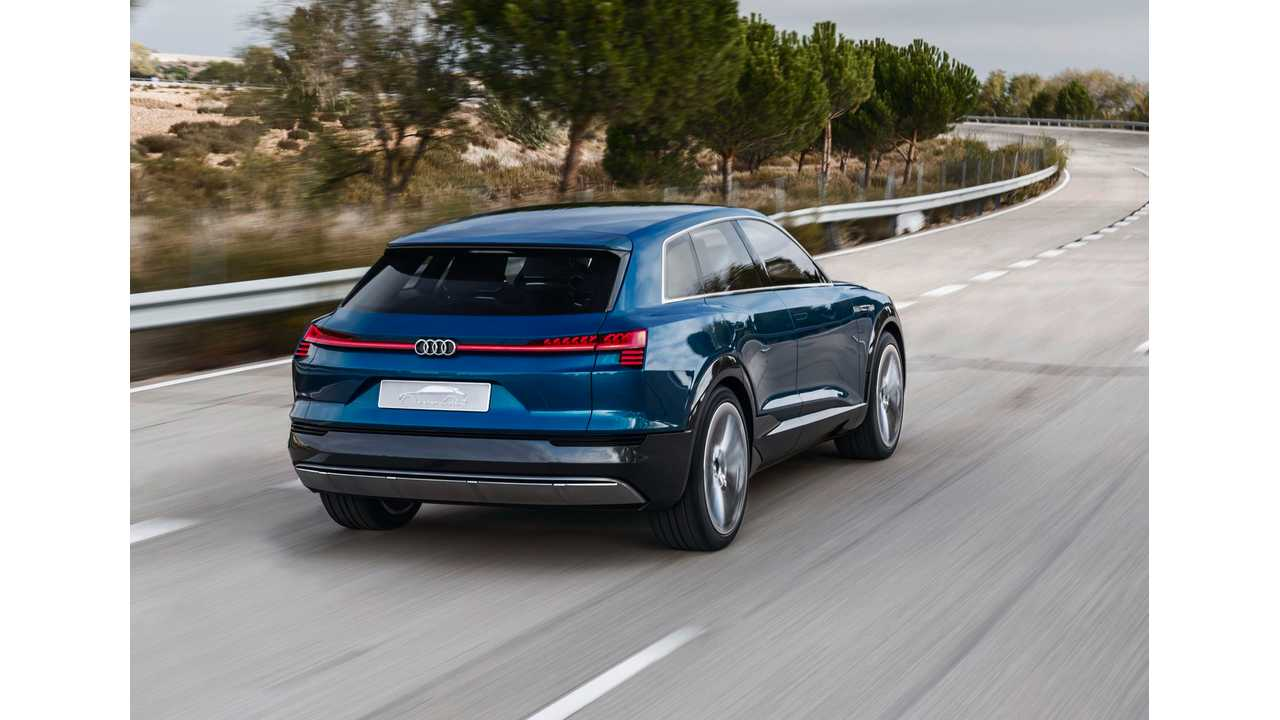 Audi CEO Promises One New Electrified Vehicle Every Year Starting In 2018