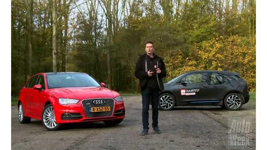 BMW i3 Versus Audi A3 E-Tron - Video