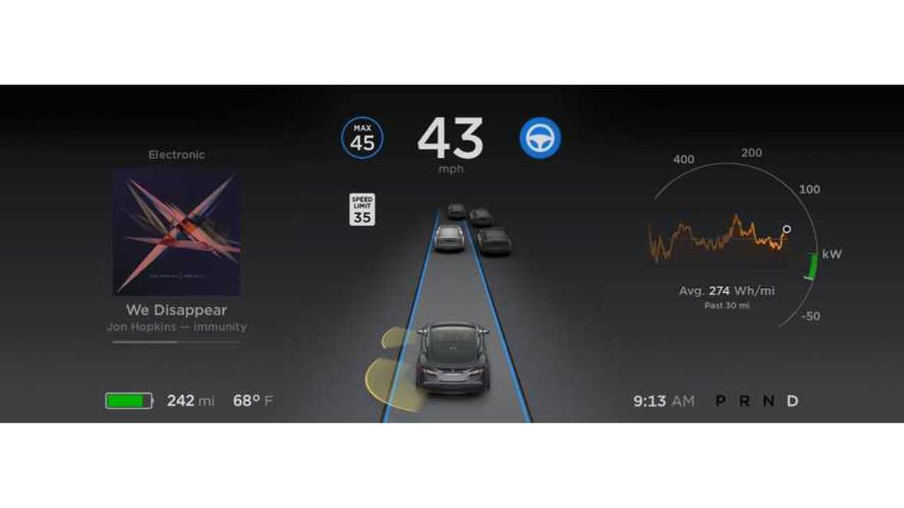 Tesla Autopilot Now Adheres To Speed Limits On Roads