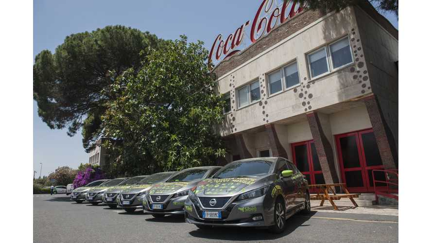 Nissan & Sibeg Partner To Develop A New Electric Ecosystem In Italy