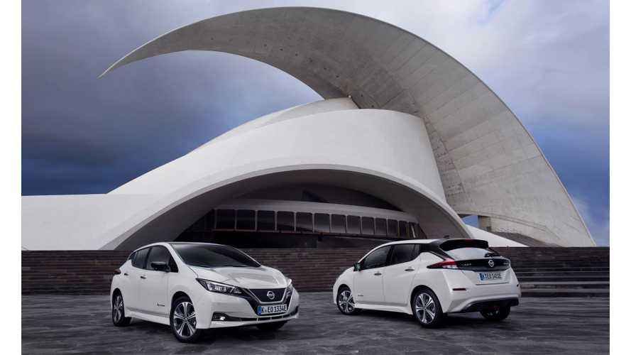Nissan LEAF Pulls Italy To Record Plug-In Car Sales Result