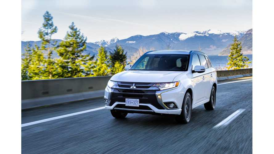Mitsubishi Updates 2019 Outlander PHEV With More Of Everything