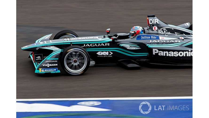 Rookie Tester Says Formula E Car Much Better Than Expected