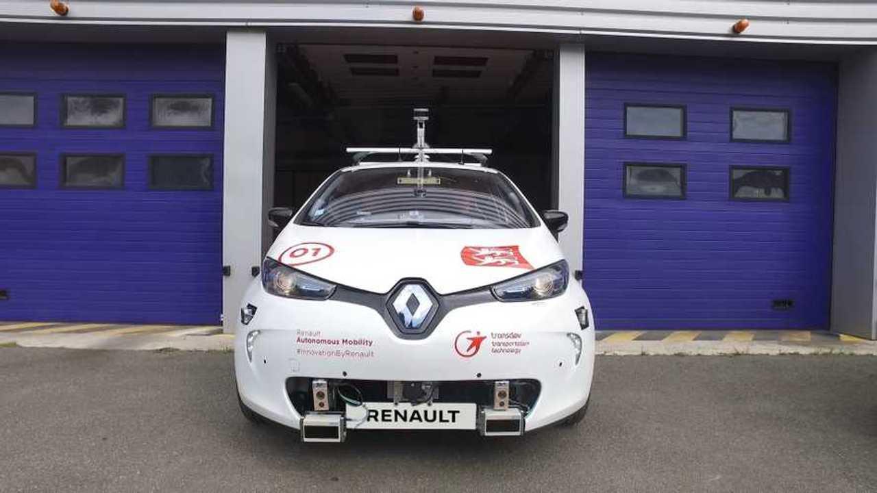 2017 - Rouen Normandy Autonomous Lab - Renault ZOE
