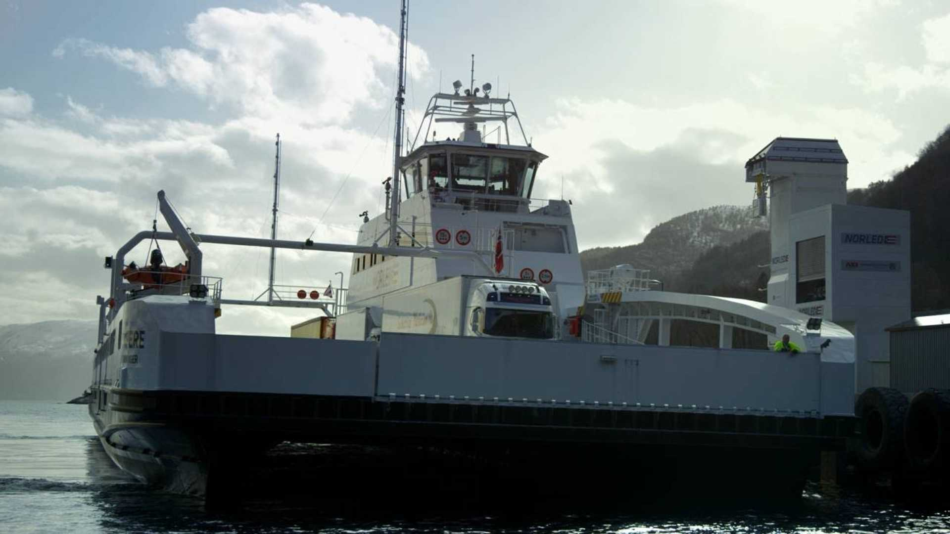 Norway's Electric Ferry Is So Impressive That 53 More Were Ordered