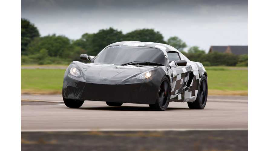 Detroit Electric SP:01 Prototype Spotted Testing