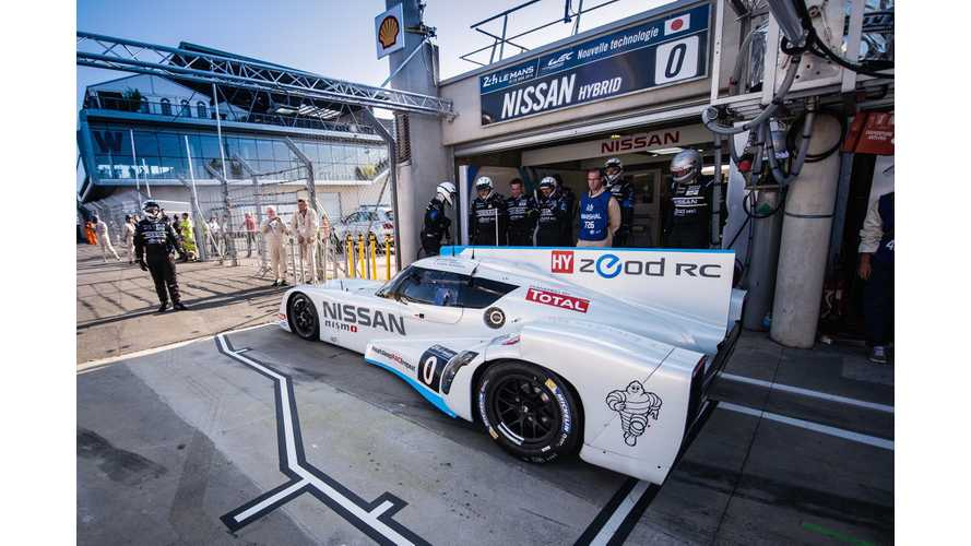 Nissan ZEOD RC - First To Complete One Purely Electric Lap At LeMans