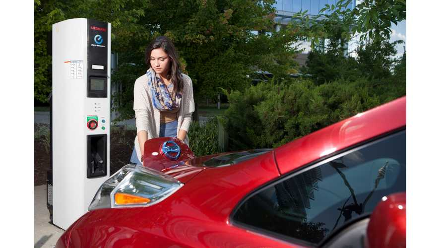 Nissan's No-Charge-To-Charge For LEAF Owners Now Offered In Atlanta