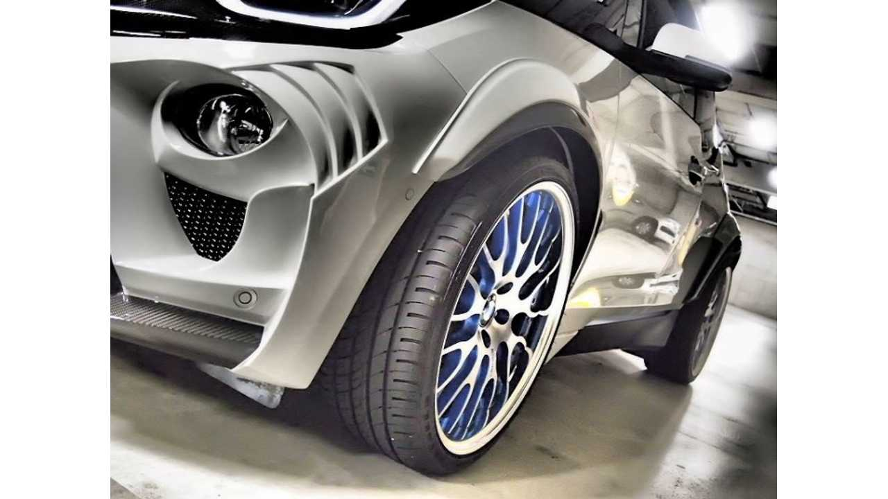 This BMW i3 Looks Aggressive, But Hideous