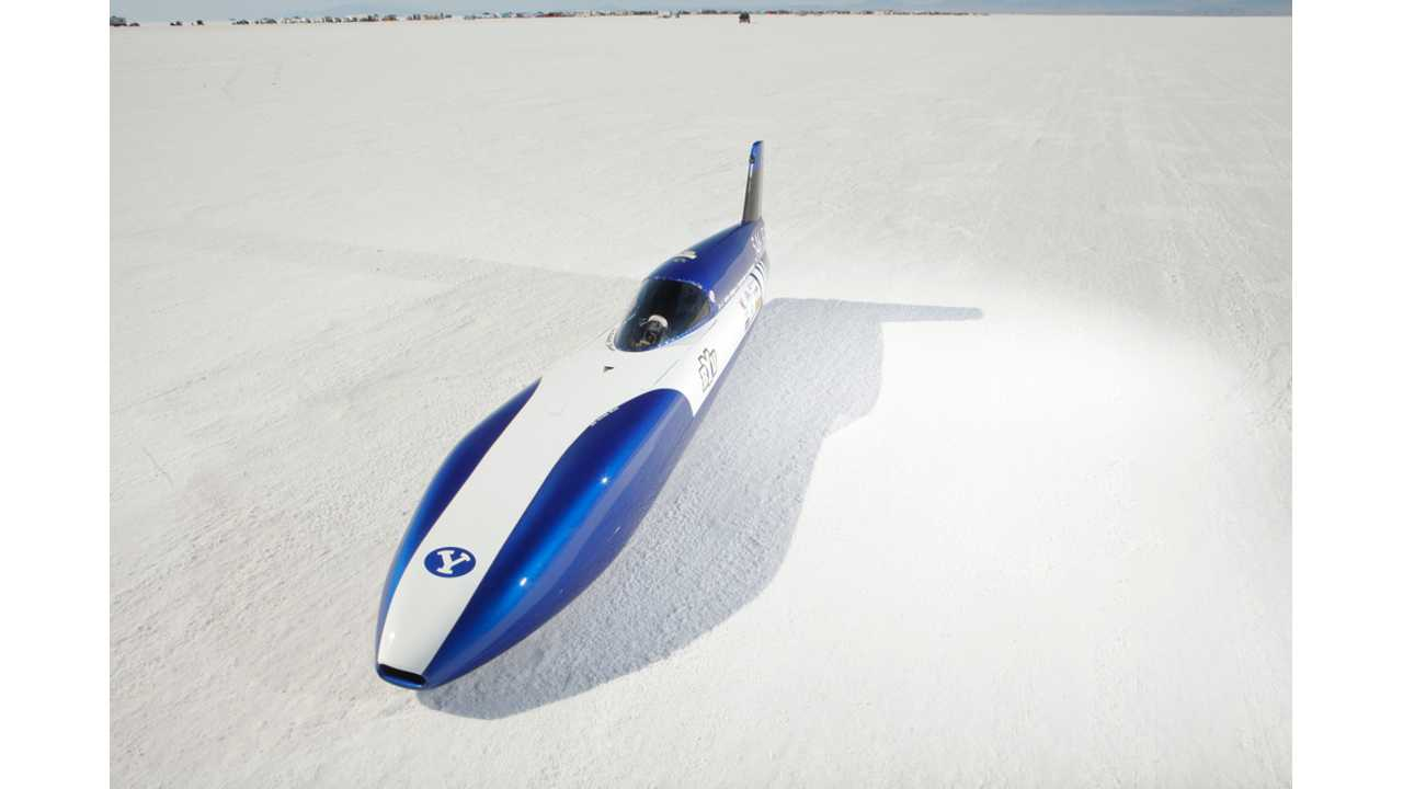 BYU Electric Car Breaks 200 MPH Barrier