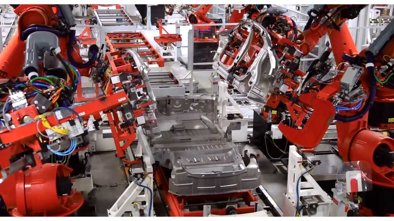 Tesla's 2nd Production Line Capable Of Pumping Out 3,000 Tesla Per Week