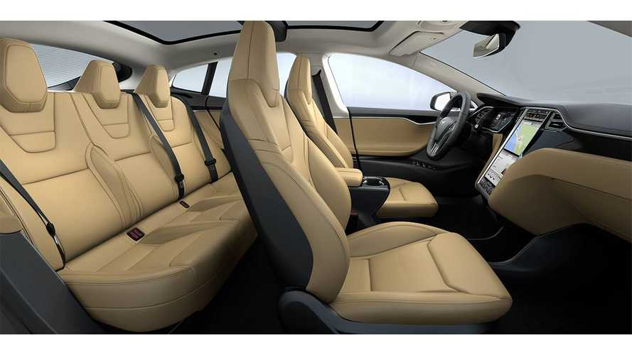 Tesla Model S Next-Gen Sport Seats Revealed