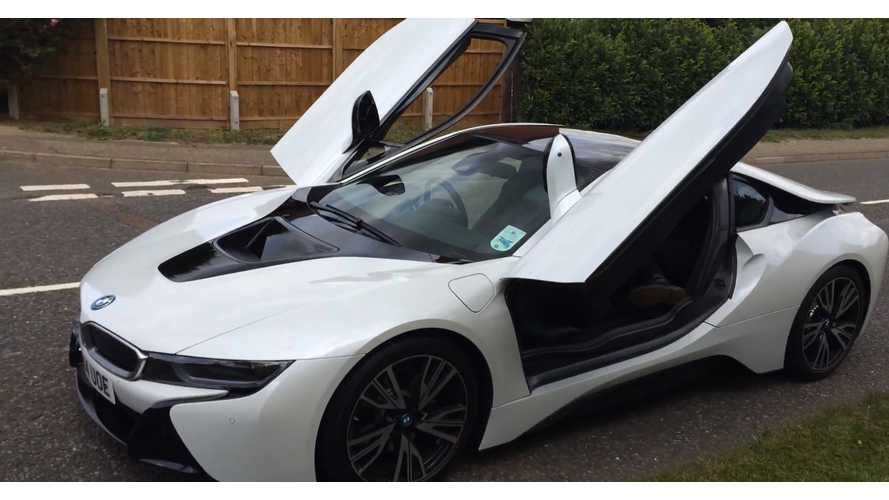 18-Year Old Drives BMW i8, Compares It To Ford Fiesta - Video