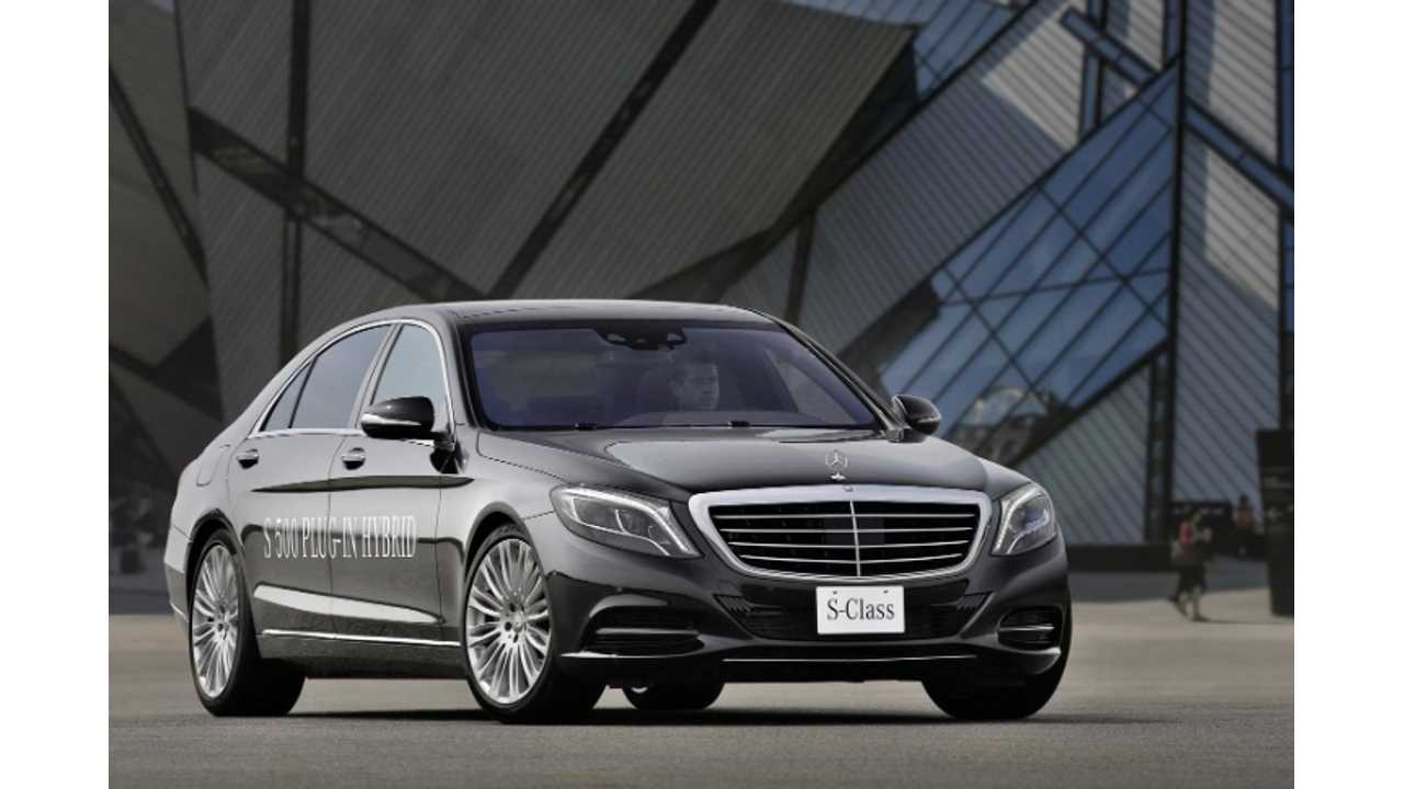Mercedes-Benz S500 Plug-In Hybrid Priced At £89,000 ($152,580 USD) In UK