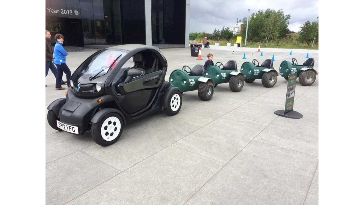 Renault Twizy Becomes A Train