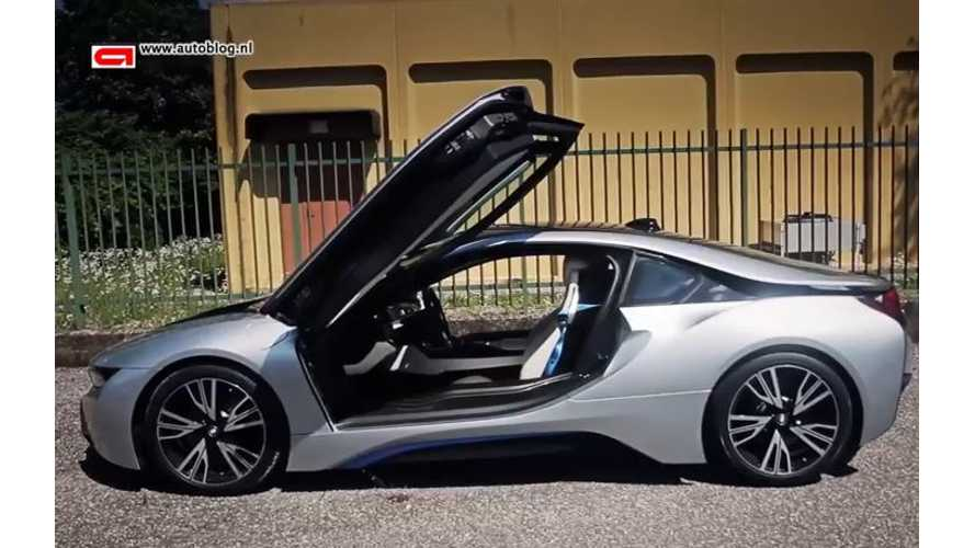 Autoblog Netherlands Test Drive Review Of BMW i8 - Video