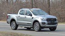 Ford Ranger Diesel Spy Shots