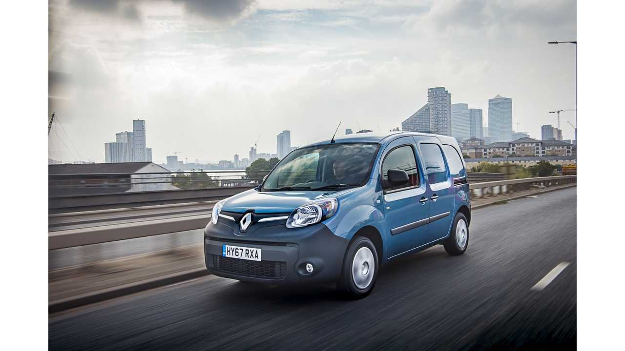 Renault-Samsung Announce New Electric Van For South Korea