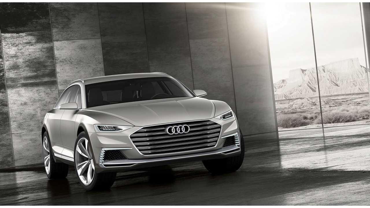 Audi Debuts Plug-In Hybrid Prologue Allroad - A 734 HP, AWD Beast
